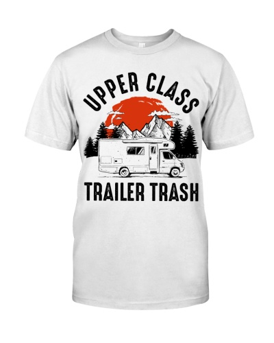 Upper Class Trailer Trash Sunset Camping