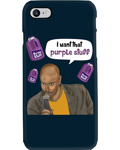 I WANT THAT PURPLE STUFF
