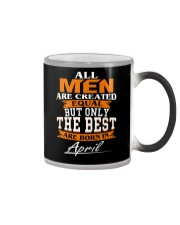 ONLY THE BEST ARE BORN IN APRIL Color Changing Mug thumbnail