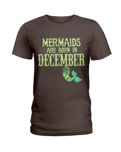 MERMAIDS ARE BORN IN DECEMBER
