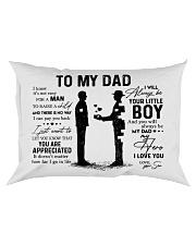 Pillow - To My Dad - Boy Rectangular Pillowcase front
