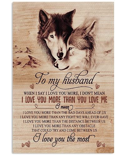 To My Husband Wolf - Poster
