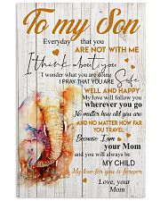 Poster To My Son Elephant 11x17 Poster front