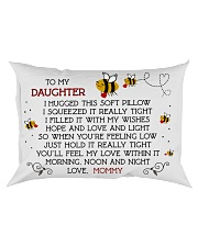 Pillow To My Daughter - Mommy Rectangular Pillowcase front