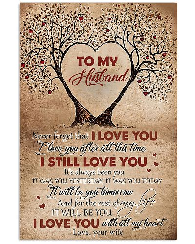 To My Husband Tree - Poster