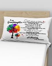To My Granddaughter Tree Pillow Rectangular Pillowcase aos-pillow-rectangular-front-lifestyle-02