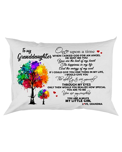 To My Granddaughter Tree Pillow