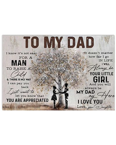 Poster - To My Dad - Daughter