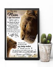 To My Mom Lion - Poster 11x17 Poster lifestyle-poster-8
