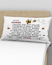 Xander love Memere Rectangular Pillowcase aos-pillow-rectangular-front-lifestyle-02