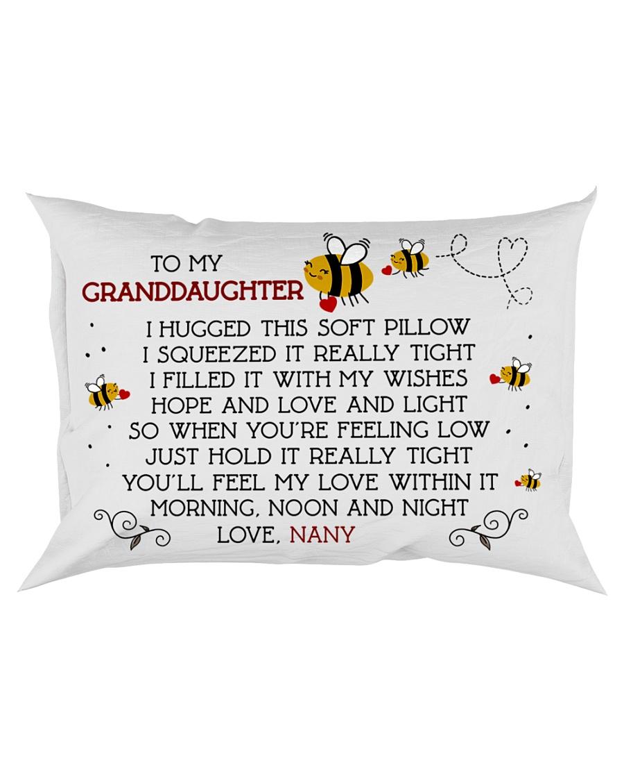 Nany-granddaughter Rectangular Pillowcase