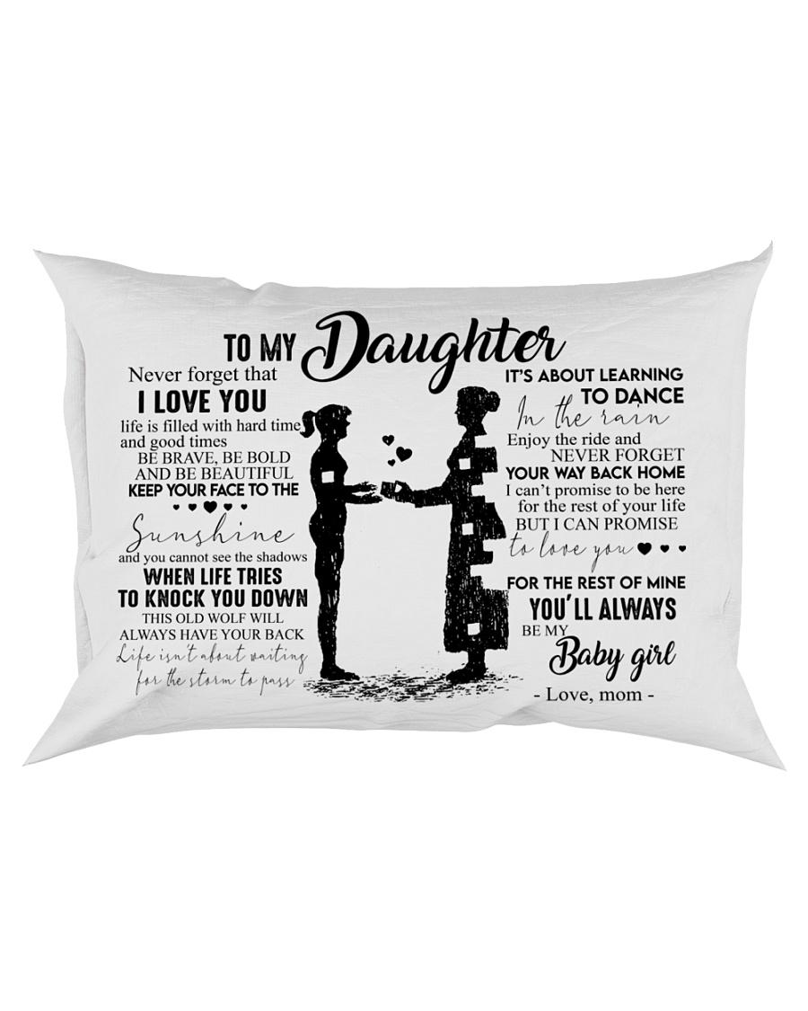 Pillow - To My Daughter - Mom Rectangular Pillowcase