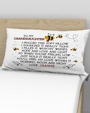 Grammie-granddaughter Rectangular Pillowcase aos-pillow-rectangular-front-lifestyle-02