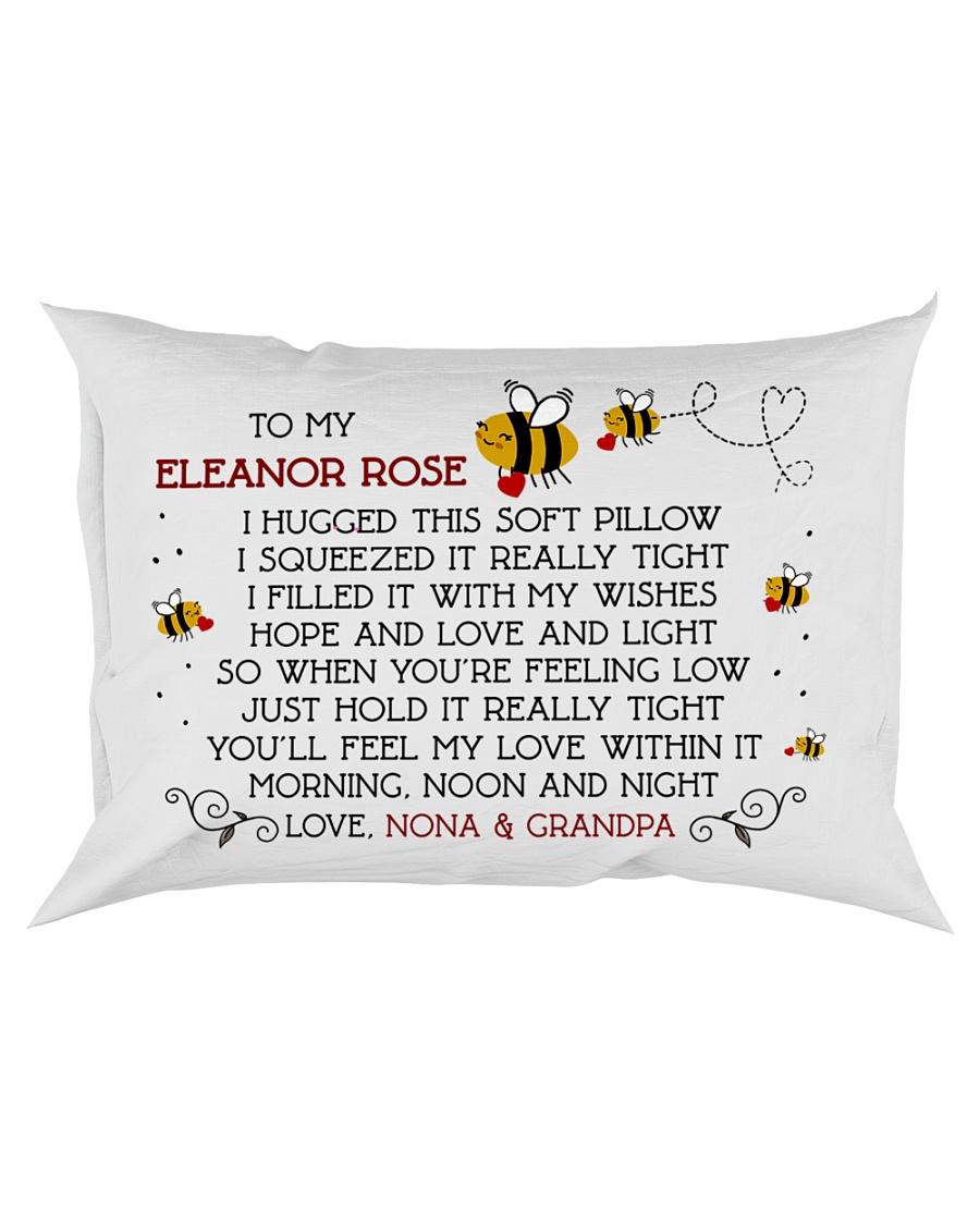 Nona Grandpa - Eleanor Rose Rectangular Pillowcase