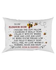 Nona Grandpa - Eleanor Rose Rectangular Pillowcase front