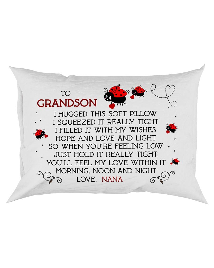 Grandson - nana - bug Rectangular Pillowcase