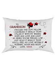 Grandson - nana - bug Rectangular Pillowcase front