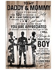 Boy - To My Daddy Mommy - Poster 11x17 Poster front