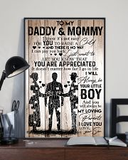 Boy - To My Daddy Mommy - Poster 11x17 Poster lifestyle-poster-2