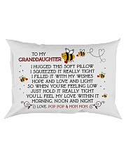 Pop Pop and Mom Mom - Granddaughter Rectangular Pillowcase front