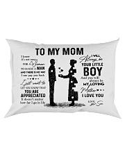 Pillow - To My Mom - Boy Rectangular Pillowcase front