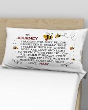 Journey and love Maja' Rectangular Pillowcase aos-pillow-rectangular-front-lifestyle-02