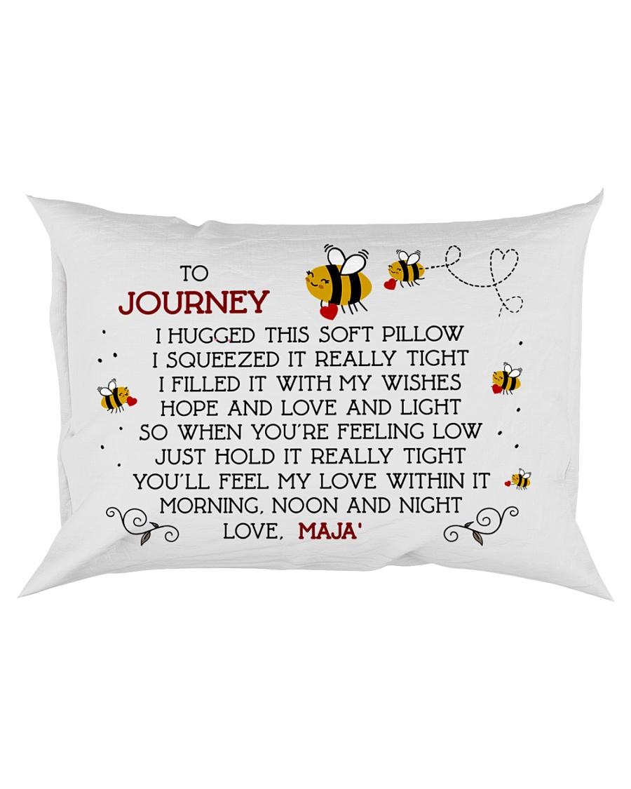 Journey and love Maja' Rectangular Pillowcase