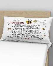 Mema - Grandson Rectangular Pillowcase aos-pillow-rectangular-front-lifestyle-02