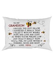 Mema - Grandson Rectangular Pillowcase front