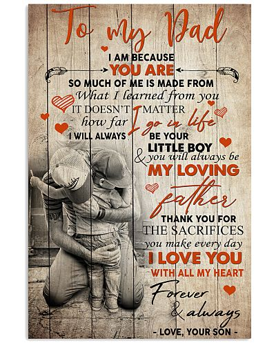 To My Dad Son - Poster