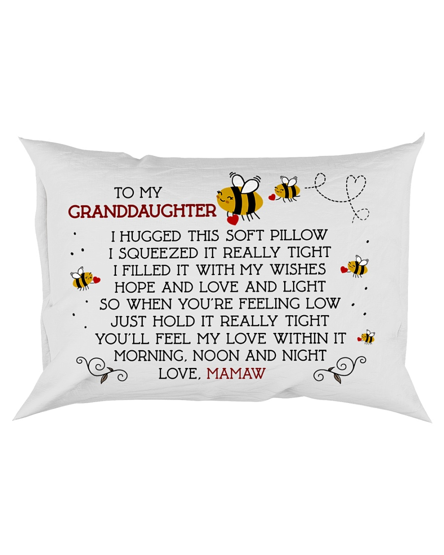 Mamaw - Granddaughter Rectangular Pillowcase