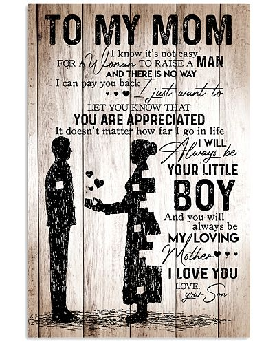 To My Mom - Boy - Poster