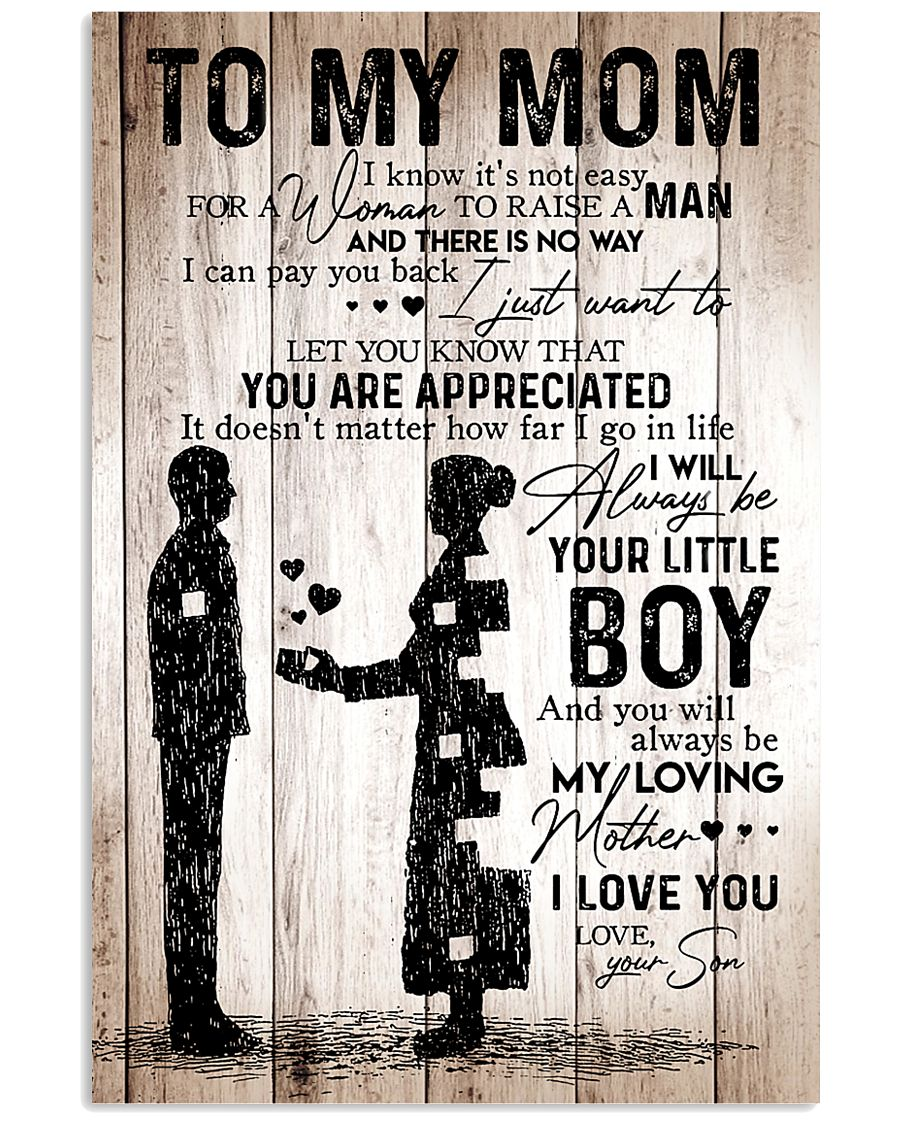To My Mom - Boy - Poster 11x17 Poster