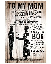 To My Mom - Boy - Poster 11x17 Poster front