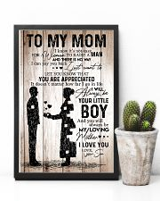 To My Mom - Boy - Poster 11x17 Poster lifestyle-poster-8