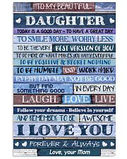 Poster To My Beautiful Daughter 11x17 Poster front