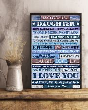 Poster To My Beautiful Daughter 11x17 Poster lifestyle-poster-3