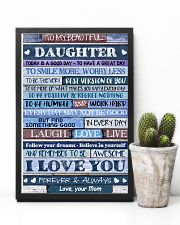 Poster To My Beautiful Daughter 11x17 Poster lifestyle-poster-8