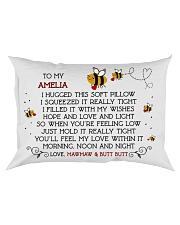 AMELIA Rectangular Pillowcase front