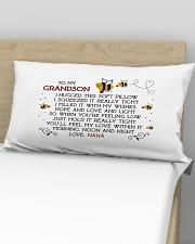 Nana-grandson Rectangular Pillowcase aos-pillow-rectangular-front-lifestyle-02