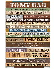 To My Dad - Poster  11x17 Poster front