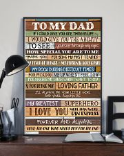 To My Dad - Poster  11x17 Poster lifestyle-poster-2