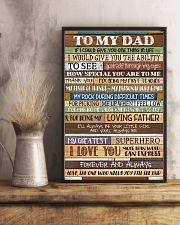 To My Dad - Poster  11x17 Poster lifestyle-poster-3
