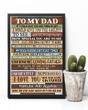 To My Dad - Poster  11x17 Poster lifestyle-poster-8