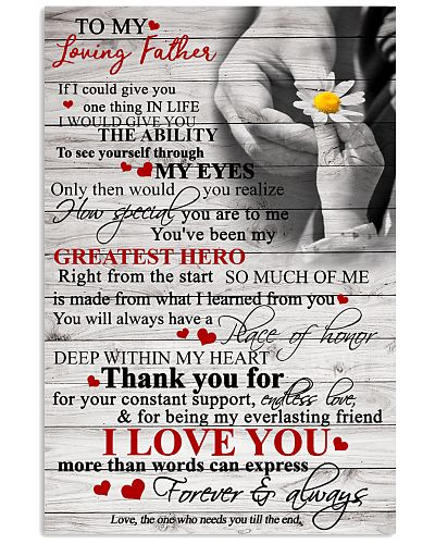 To My Loving Dad - Poster