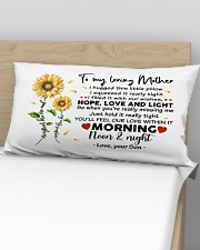 Pillow Son To Mother Sunflower Rectangular Pillowcase aos-pillow-rectangular-front-lifestyle-02