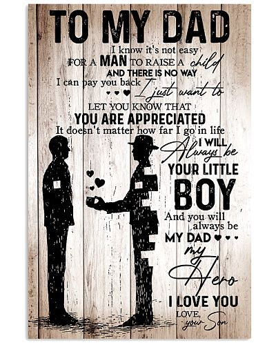To My Dad - Boy - Poster