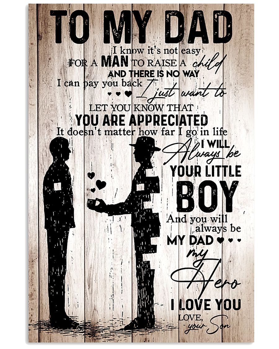 To My Dad - Boy - Poster 11x17 Poster