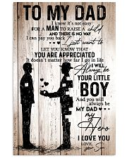To My Dad - Boy - Poster 11x17 Poster front
