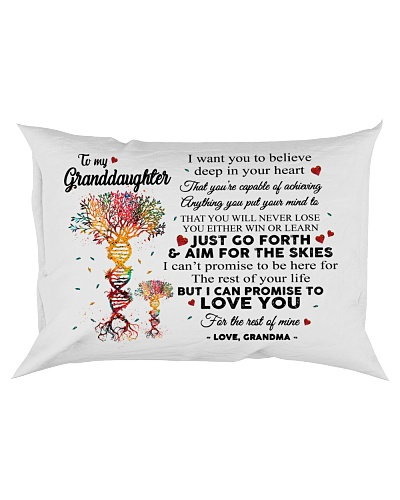 To My Granddaughter Tree DNA Pillow